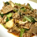 小松菜豚キムチ