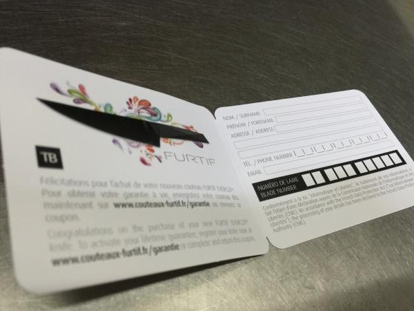 エバーカット 登録用紙