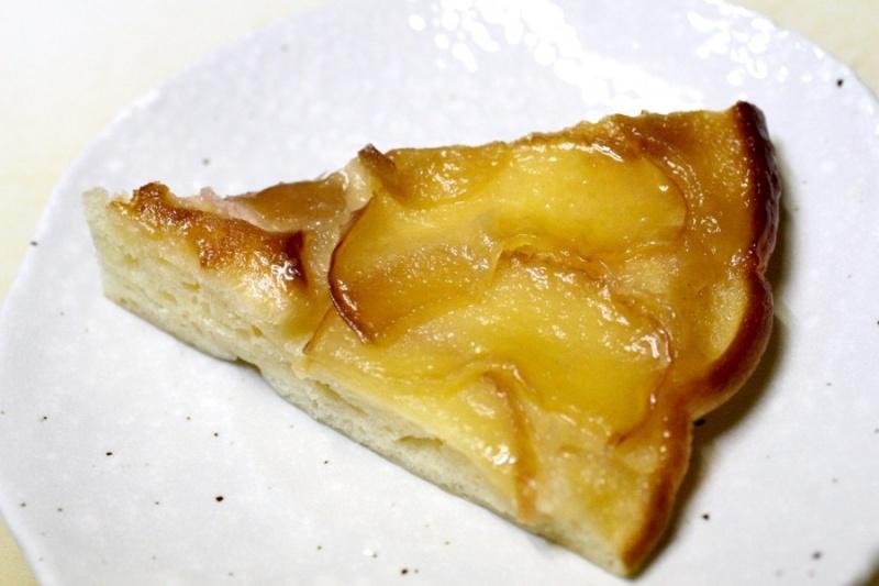 アップルケーキの断面