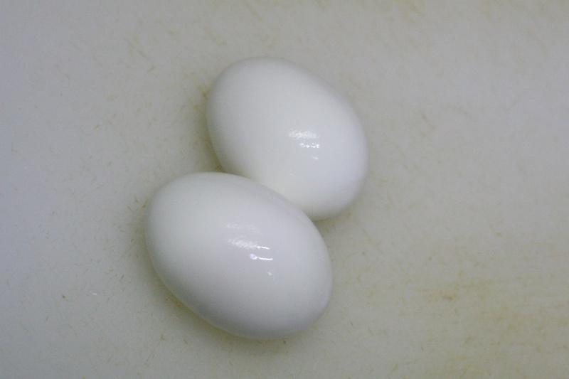 ハート型のゆで卵の作り方3