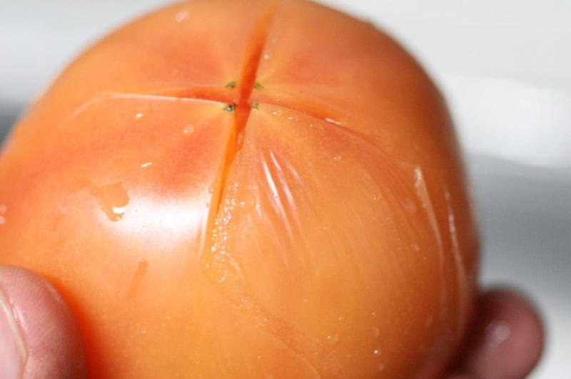 トマトの湯むき5