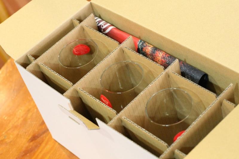 リーデルのコカコーラ専用グラス4