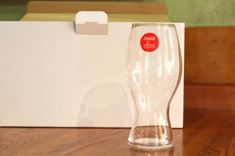 リーデルのコカコーラ専用グラス5