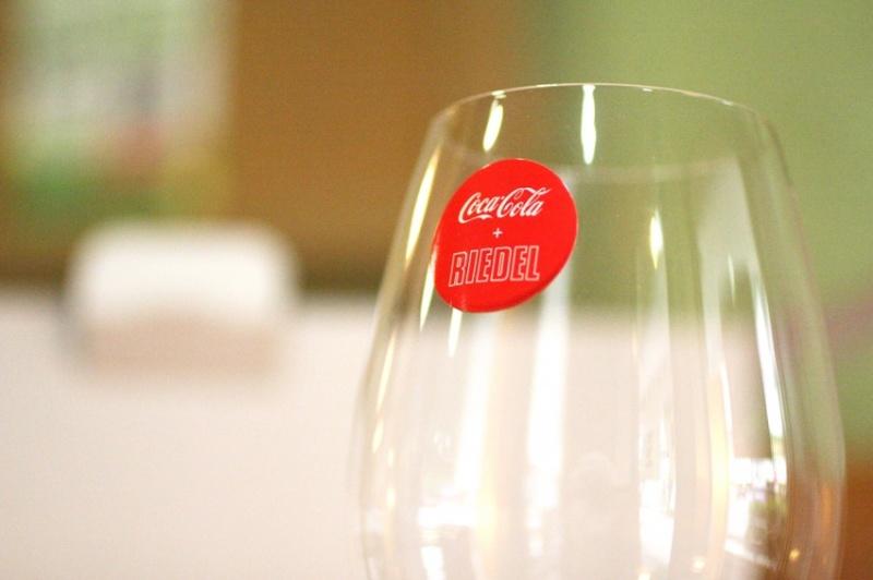 リーデルのコカコーラ専用グラス6