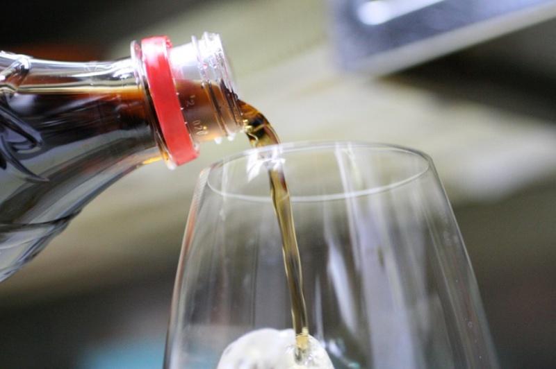 リーデルのコカコーラ専用グラス15