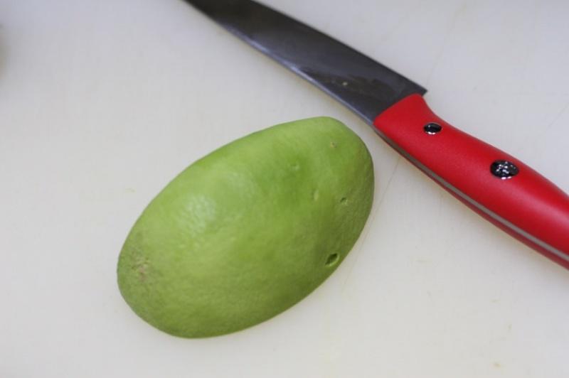 アボカドの切り方9