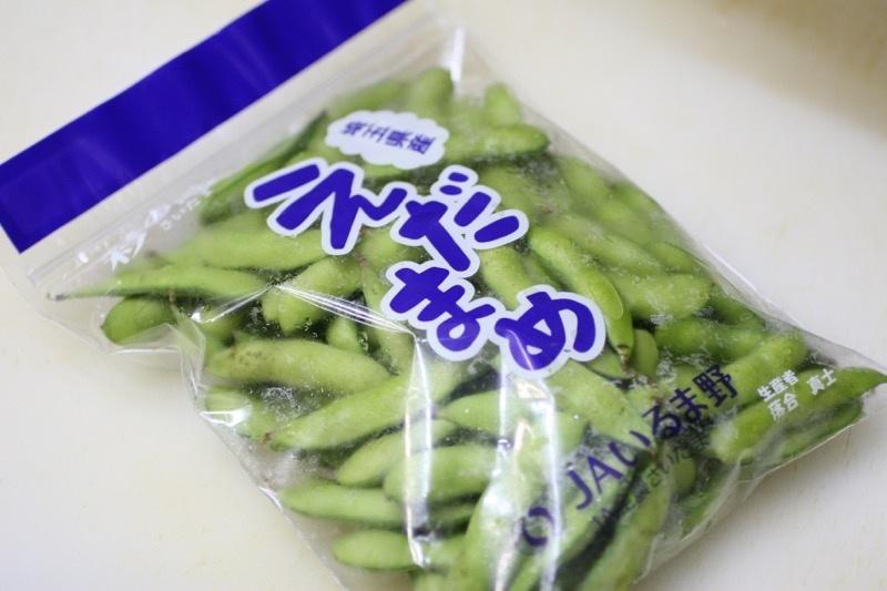 枝豆の茹で方1