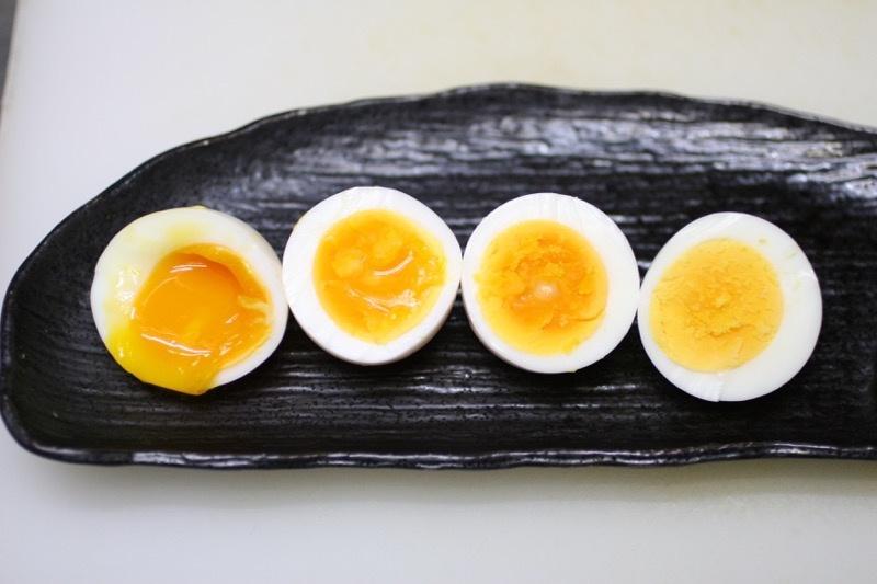 ゆで卵 水から 固ゆで