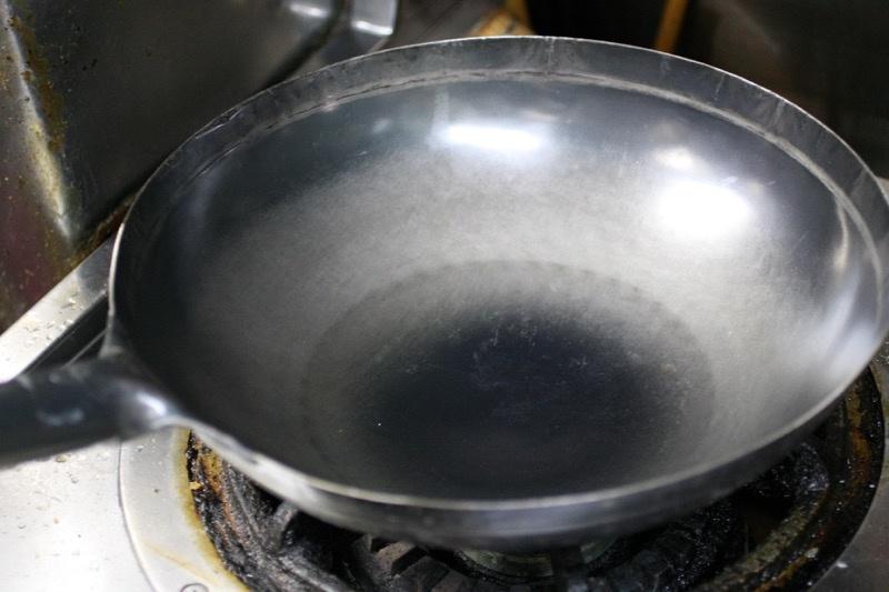 中華鍋の使い始め1