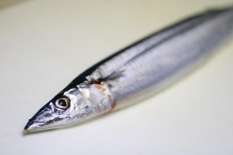 秋刀魚の塩焼き、裏技1