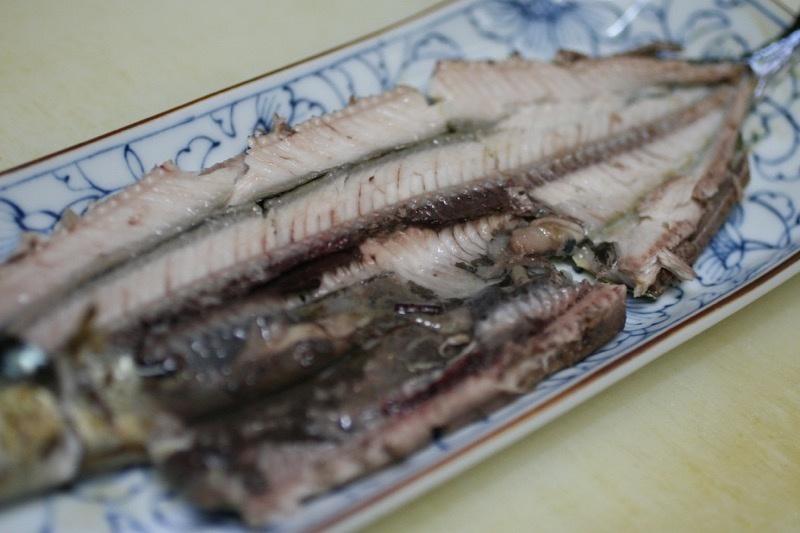 秋刀魚の塩焼き、裏技12