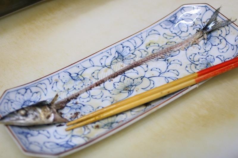 秋刀魚の塩焼き、裏技13