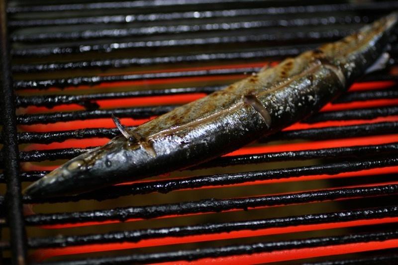 秋刀魚の塩焼き、裏技6