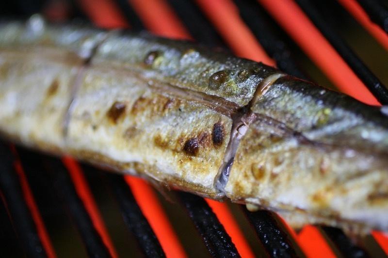 秋刀魚の塩焼き、裏技7
