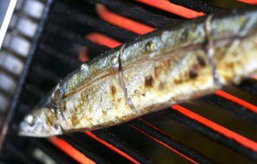 秋刀魚の塩焼き、裏技8