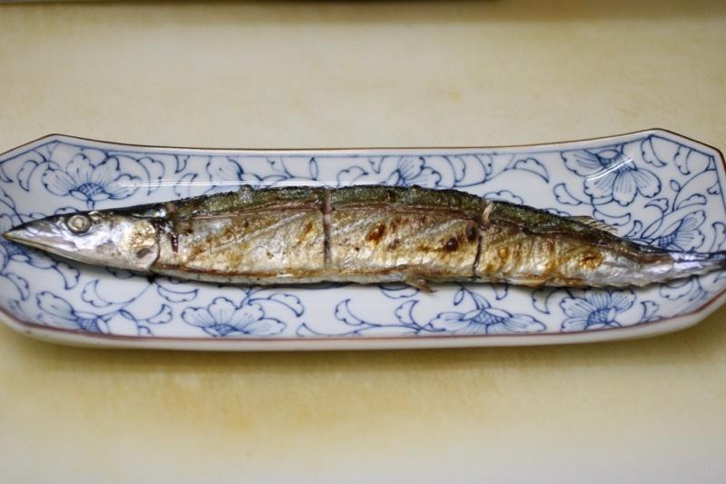 秋刀魚の塩焼き、裏技9
