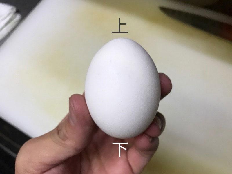 卵を片手で割る方法2