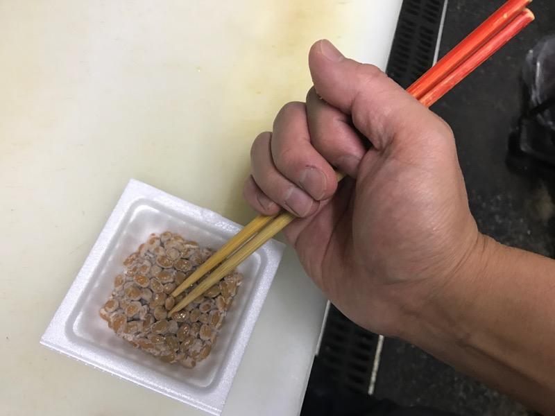 納豆の混ぜ方3