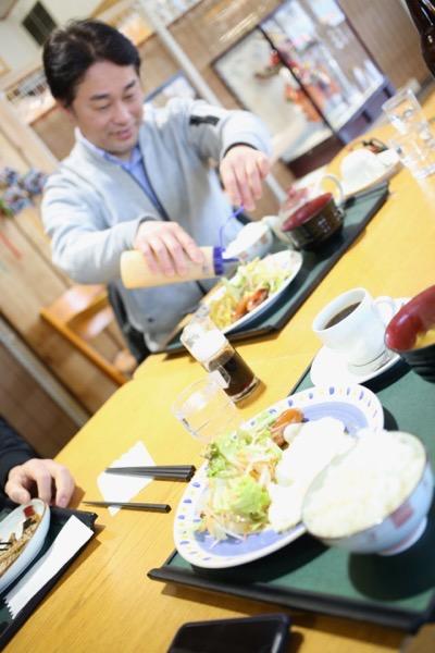 蕎麦組合旅行・鴨川1