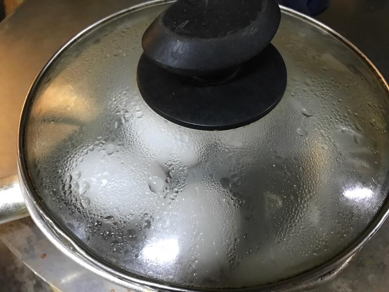 温泉卵の簡単な作り方1