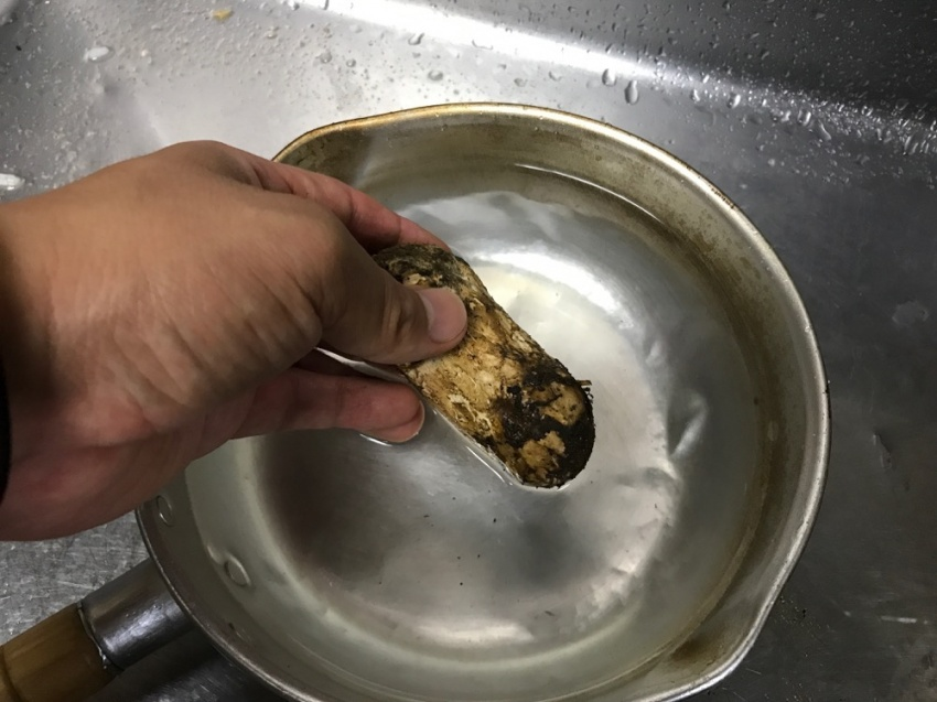松茸ご飯3
